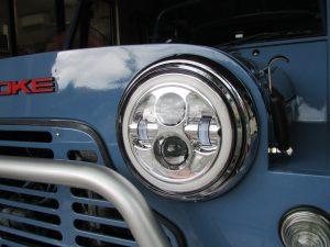 ローバーミニ LEDヘッドライト